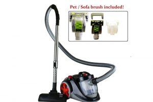 Ovente ST2010 Featherlite Cyclonic Bagless Canister Vacuum Review