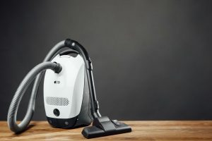 What is a canister vacuum?